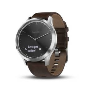 Смарт часовник Garmin VIVOMOVE HR L BLACK SILVER 010-01850-24